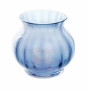 Dartington Bijou Ink Blue Votive