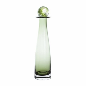 Dartington Elgin Olive Green Medium Bottle