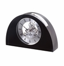 Dartington Half Moon Clock - Black