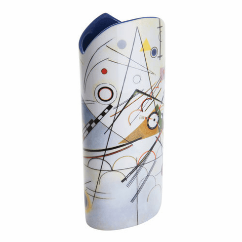 Dartington Kandinsky Composition Viii Ceramic Vase