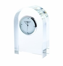 Dartington Small Curve Clock - Clear