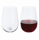 Dartington Stemless Red Wine (pair)