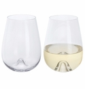 Dartington Stemless White Wine (pair)