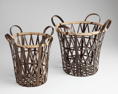 Decorative Baskets, Containers & Boxes