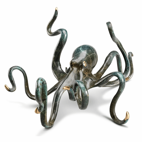 Deep-Sea Delight Octopus Sculpture by SPI Home