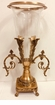 Dessau Home Antique Brass with Lined Glass Floating Vase Home Decor