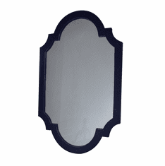 Dessau Home Antiqued Blue Chippendale Mirror