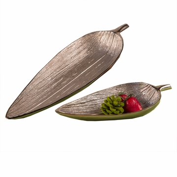 Dessau Home Bay Leaf Bowl Home Decor