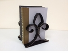 Dessau Home Bronze Fleur De Lis Bookend 8H 7W Home Decor
