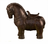 Dessau Home Bronze Tang Horse Home Decor