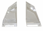 Dessau Home Crystal Angular Bookends