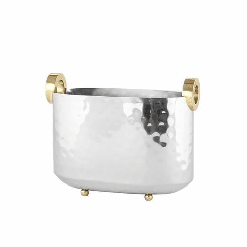 Dessau Home Gold Ring Wine Bucket