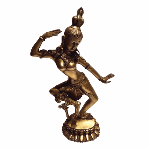 Dessau Home Indian Lady Dancing Figure