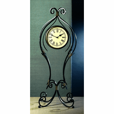 Dessau Home Iron Scroll Floor Clock