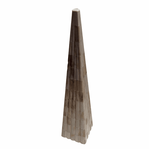 Dessau Home Natural Bone Trylon Sculpture
