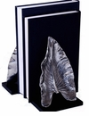 Dessau Home Nickel Leaf Bookend Home Decor