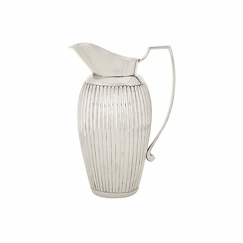 Dessau Home Nickel Ribbed Pitcher Home Decor
