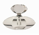 Dessau Home Oval Crystal Perfume Bottle Home Decor
