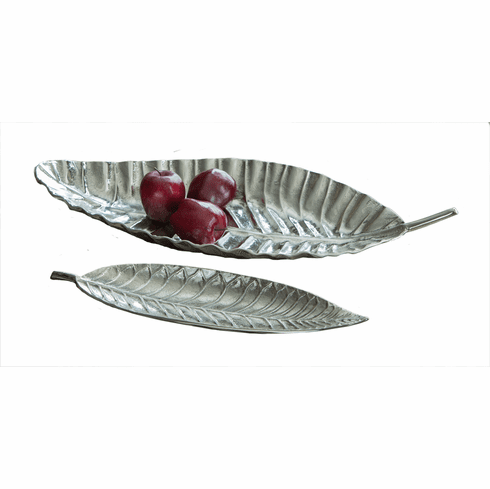 Dessau Home Tropical Leaf Tray Home Decor