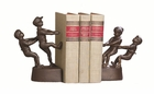 Dessau Home Tug Of War Bookends Bronze Iron Home Decor