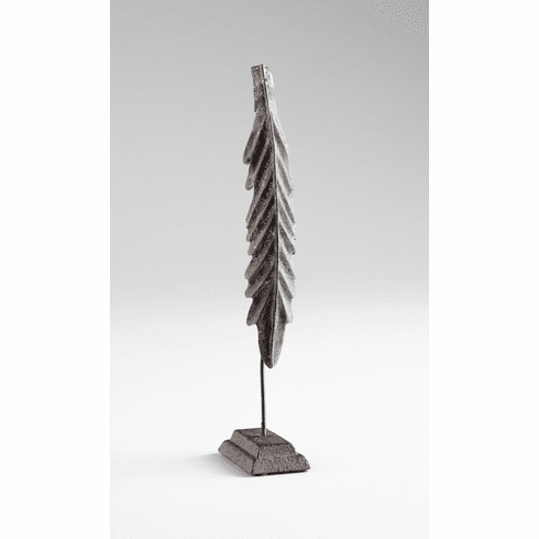 Distressed Gray Luling Sculpture by Cyan Design
