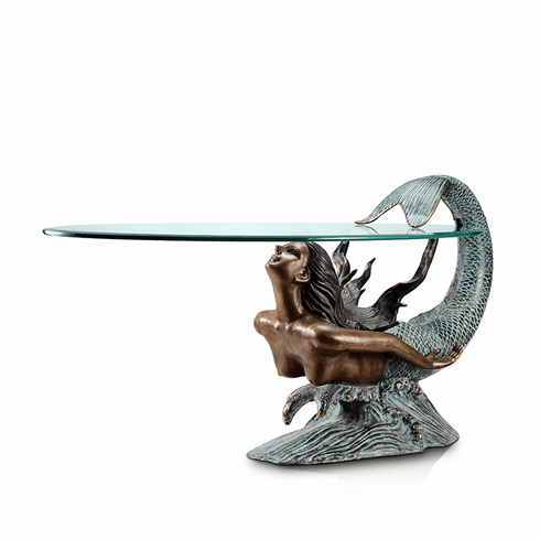 Diving Mermaid Coffee Table by SPI Home