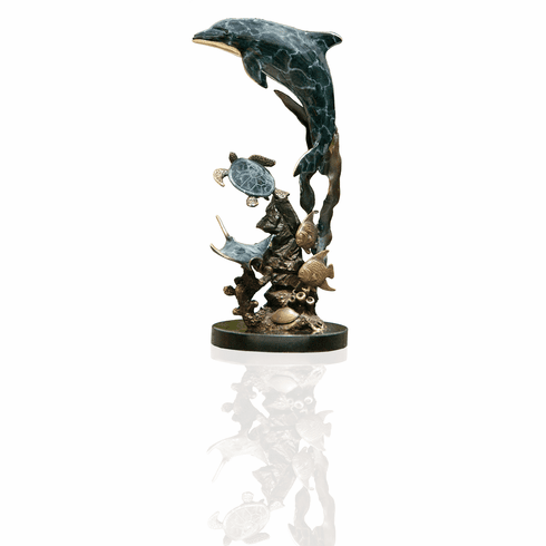 Dolphin & Friends Sculpture by SPI Home