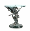 Dolphin Seaworld End Table by SPI Home