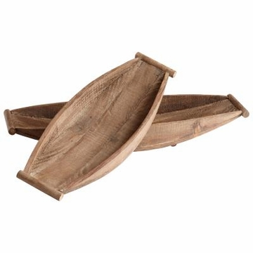 Dory Wood Boat Trays by Cyan Design