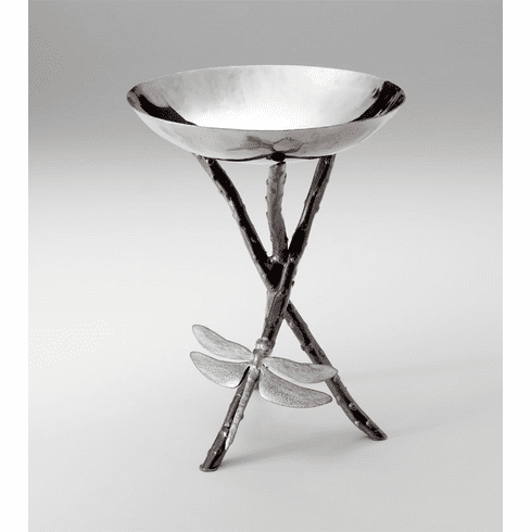 Dragonfly Iron Silver & Bronze Bowl by Cyan Design