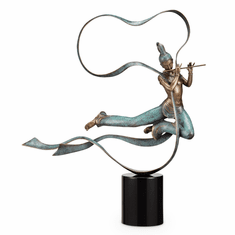 Dunhuang Dancer With Flute by SPI Home