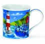 Dunoon Bute Harbour Life Blue Mug