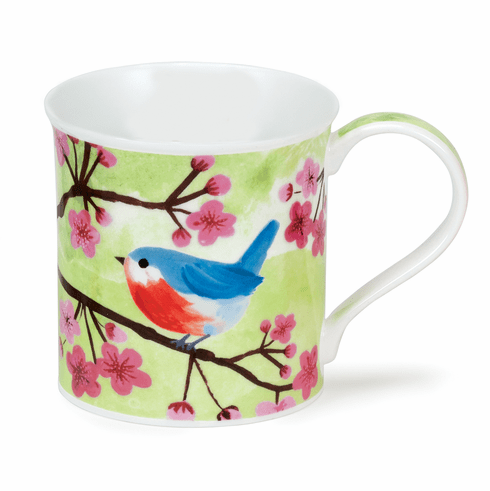 Dunoon Bute Little Birdies Nuthatch Mug