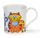 Dunoon Bute The Good Life Cat 10.1oz Mug
