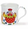 Dunoon Bute The Good Life Chicken 10.1oz Mug