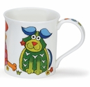 Dunoon Bute The Good Life Dog 10.1oz Mug
