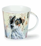 Dunoon Cairngorm Dogs on Canvas Jack Russell Terrier Mug