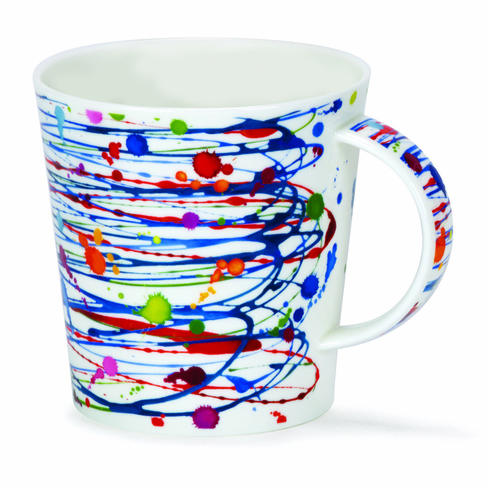Dunoon Cairngorm Drizzle Blue Mug