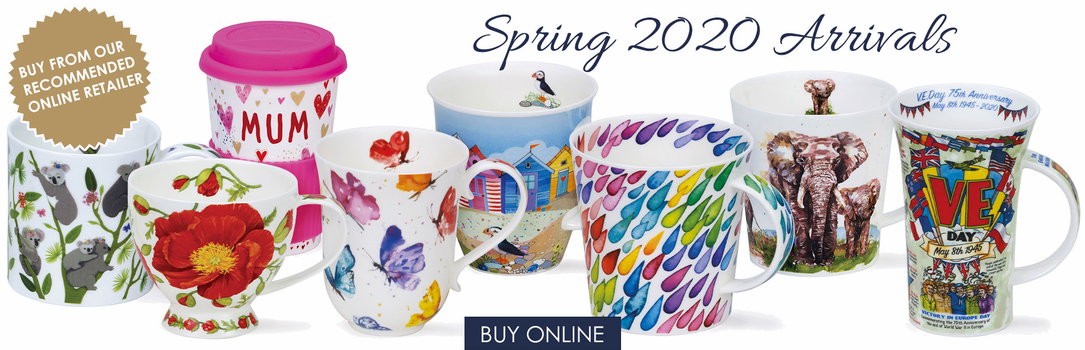 Dunoon English Bone China Mugs