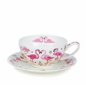 Dunoon Flamboyance Tea for Once Cup and Saucer