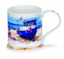 Dunoon Iona Seaside Mug - Fishing Boats