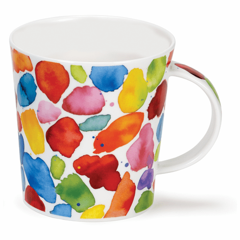 Dunoon Lomond Blobs! Red 10.8oz Mug