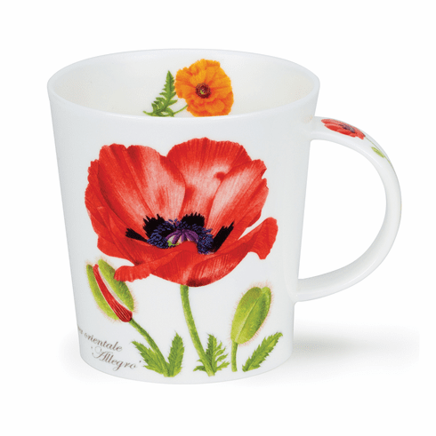 Dunoon Lomond Botanica Poppies Mug