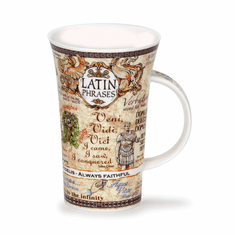 Dunoon Mug Latin Phrases Mug - (16.9 Oz.)