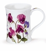 Dunoon Mug Purple Sweet Pea Mug (11.1 Oz)