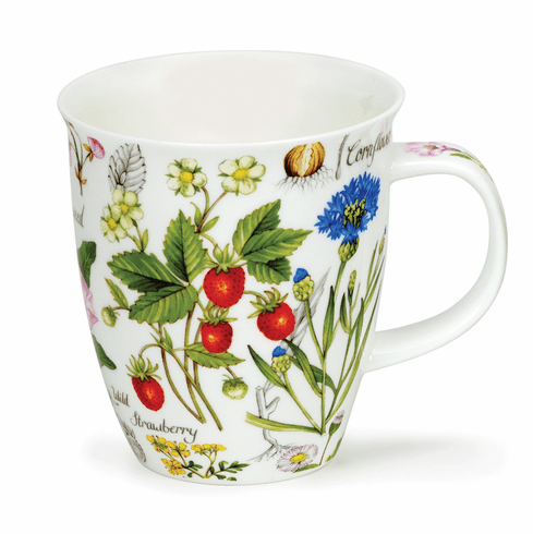 Dunoon Nevis Floral Diary Strawberry Mug