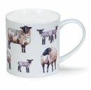 Dunoon Orkney Country Life Sheep Mug