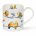 Dunoon Orkney Feathered Friends Blossom Mug