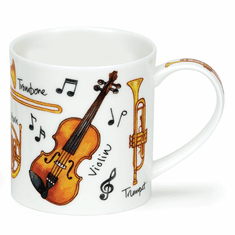 Dunoon Orkney Music Instruments Mug