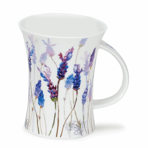 Dunoon Richmond Floral Breeze Lavender Mug